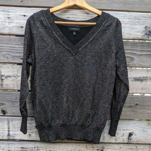 Lane Bryant Black Sweater with Sparkles Size 14/16
